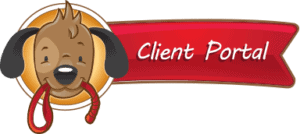 Client Portal header